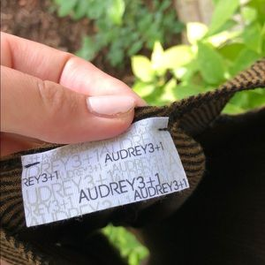 Audrey 3+1 Dresses - Plaid tank dress with open back